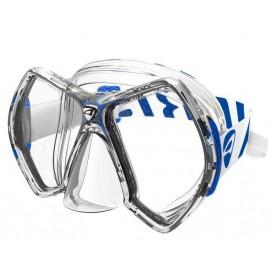 Maska CYANEA CLEAR/BLUE