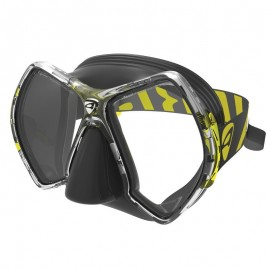 Maska CYANEA BLACK/YELLOW