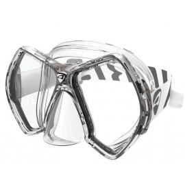 Maska CYANEA CLEAR/TITANIUM