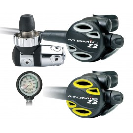 Automatika Atomic Aquatics Z2 DIN Grey SET s octopusem Z2 a manometrem