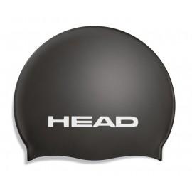 Plavecká čepice HEAD SILICONE MOULDED černá
