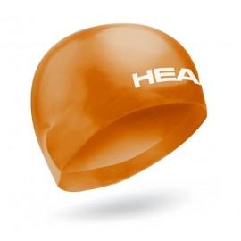 Plavecká čepice HEAD 3D RACING CAP orange
