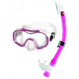 Dětský šnorchlovací SET DORY Mares růžový