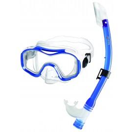 Dětský šnorchlovací SET DORY Mares modrý