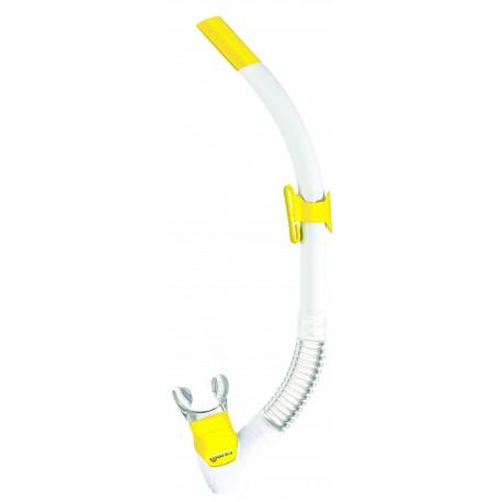 Šnorchl REBEL FLEX Mares bílá/žlutá