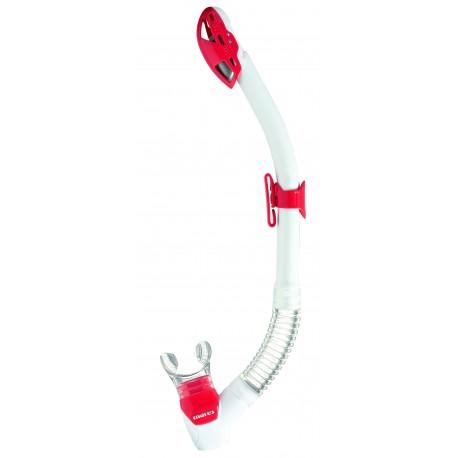 Šnorchl REBEL DRY Mares bílá/červená