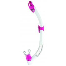 Šnorchl Mares REBEL DRY bílá/růžová