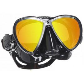 Maska SYNERGY TWiN zrcadlová SCUBAPRO černá/stříbrná MRD
