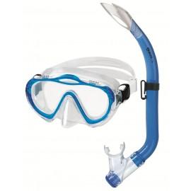 Šnorchlovací SET SHARKY Mares modrý