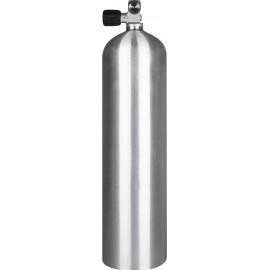 Potápěčská tlaková stage lahev S80 - stříbrná