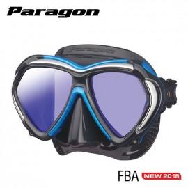 Maska PARAGON TUSA černá/modrá