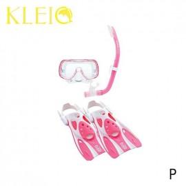 Set Mini-Kleio Hyperdry TUSA  pro mládež bílo růžová