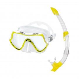 Šnorchlovací  SET PURE VISION Mares žlutý