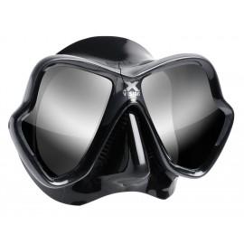 Maska X-VISION ULTRA LiquidSkin MARES tónovaná skla stříbrná