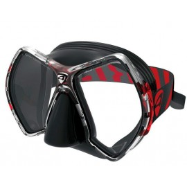 Maska CYANEA BLACK/RED