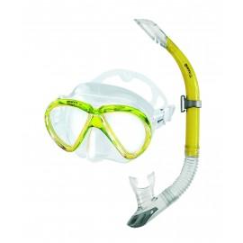 Šnorchlovací set Mares MAREA maska + šnorchl Žlutá