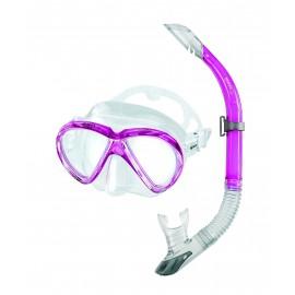 Šnorchlovací set Mares MAREA maska + šnorchl  Růžová