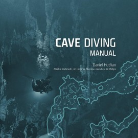 Kniha CAVE DIVING MANUAL Daniel Hutňan