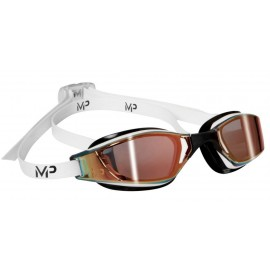 Plavecké brýle Michael Phelps XCEED GOLD titanově zrcadlový zorník