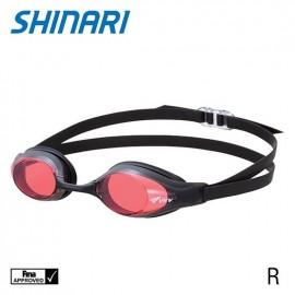 Plavecké brýle SHiNARi ViEW R červené