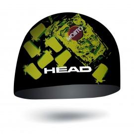 Plavecká čepice HEAD Cap SILIKONE SKETCH