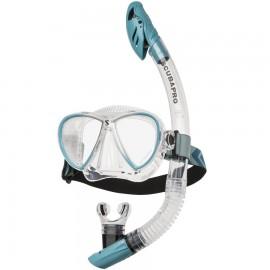 Set maska + šnorchl SYNERGY TWIN COMBO SCUBAPRO clr/trq