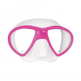 Maska Mares X-FREE  bílo/růžová