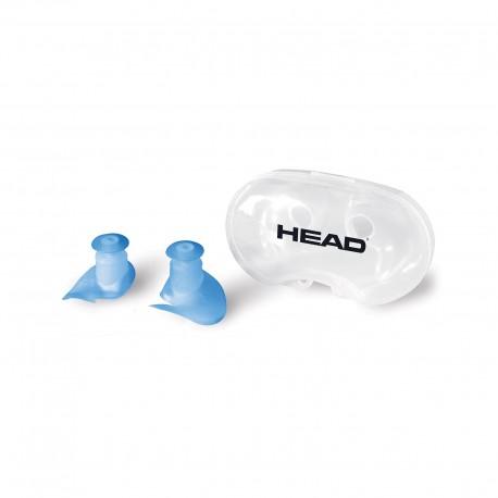 Špunty do uší HEAD EAR PLUGS silicone flap
