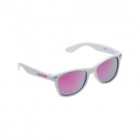 Sluneční brýle Cressi MAKA white/pink lens
