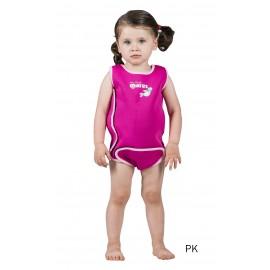 Neoprenový oblek Baby Wrap Mares růžový