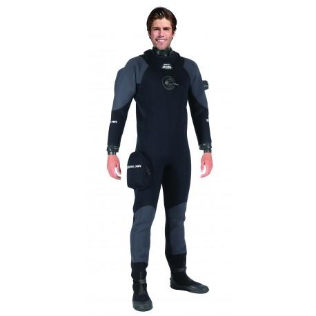 Suchý oblek XR3 Neoprene Latex Dry Suit - XR MARES s botami