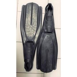 Ploutve SplitFins Open Heel yelow použité