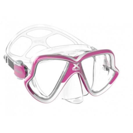 Maska X-Vision MID 2.0 Mares růžová