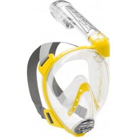 Maska celoobličejová Cressi DUKE FULL FACE MASK clear/yellow M/L