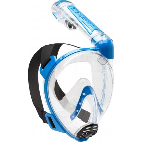 Maska celoobličejová Cressi DUKE FULL FACE MASK clear/blue S/M