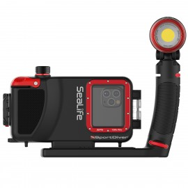 Sada pouzdra na IPhon SportDiver  a světla Pro 2500 SeaLife