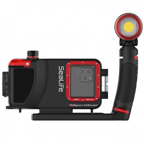 Sada pouzdro na IPhon SportDiver  a světlo Pro 2500 SeaLife
