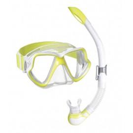 Šnorchlovací set maska+šnorchl Mares WAHoo Neon
