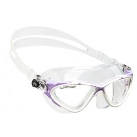 Plavecké brýle PLANET clear/white/lilac