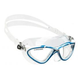 Plavecké brýle Cressi PLANET čiré/modrá/bílá