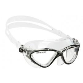 Plavecké brýle Cressi PLANET čirý silikon/černá