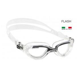 Plavecké brýle Cressi FLASH černé / čirý silikon