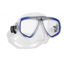 Maska Scubapro Zoom čirá/modrá-stříbrná